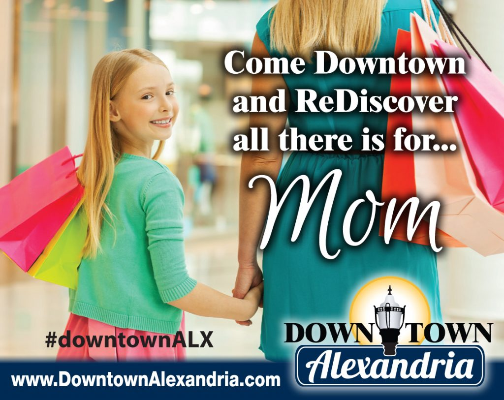 downtown alexandria mothers day