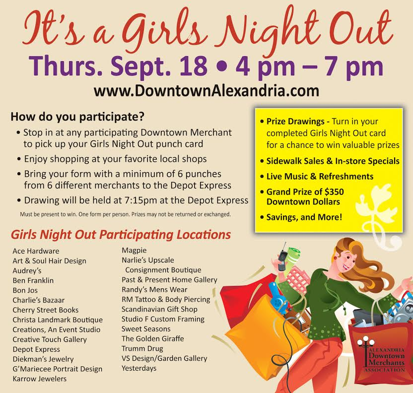 Girls Night Out Alexandria MN