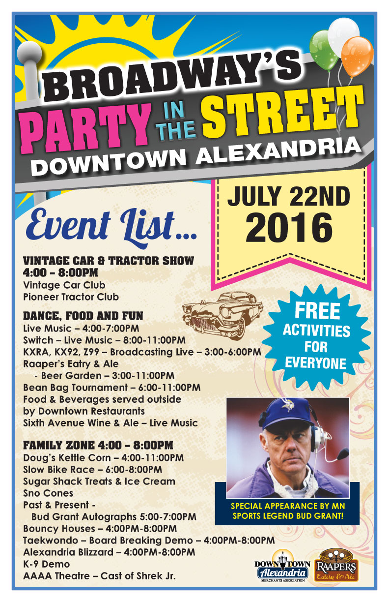 downtown alexandria party in the street 2016