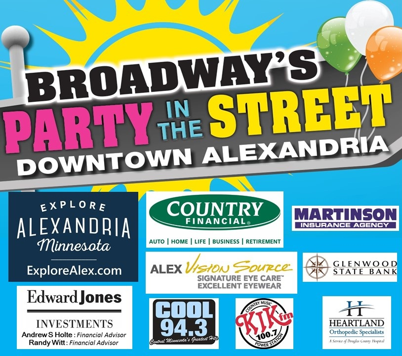 party in the street alexandria mn