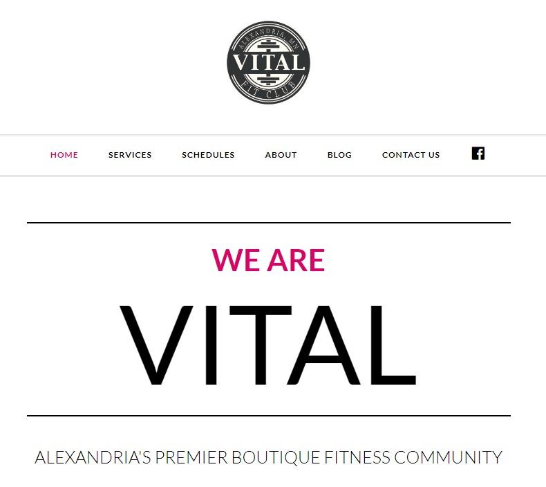 vital fit club alexandria